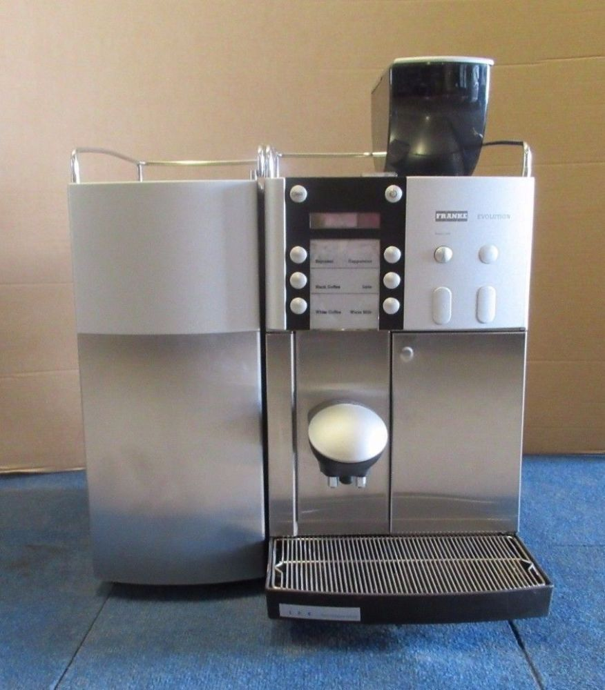Franke Evolution Basic Bean To Cup Coffee Machine & Franke Milk Cooling Unit